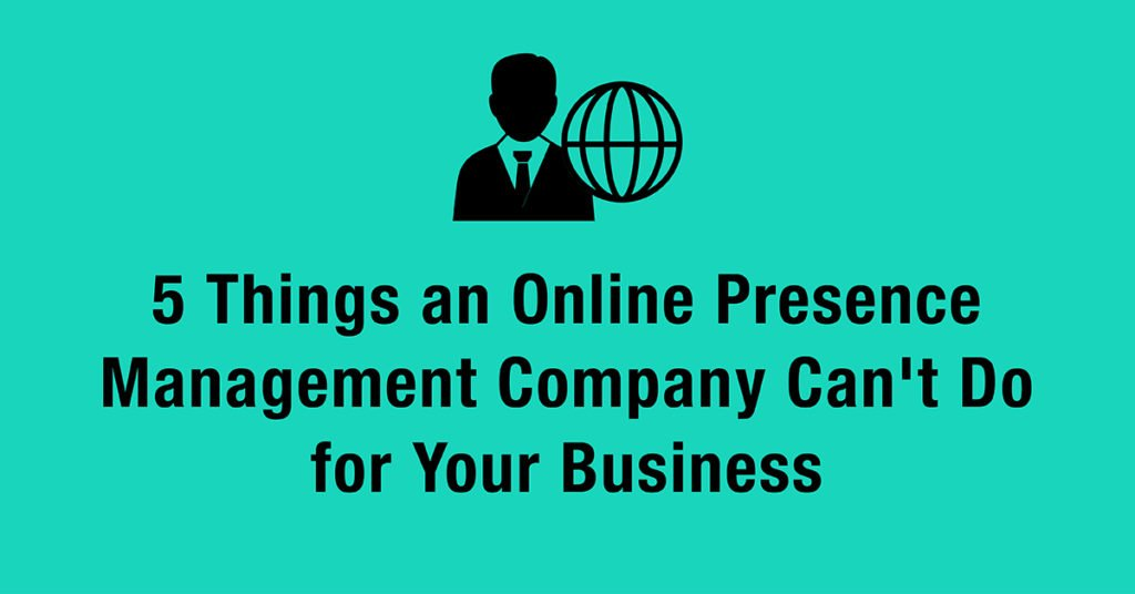 online presence management company