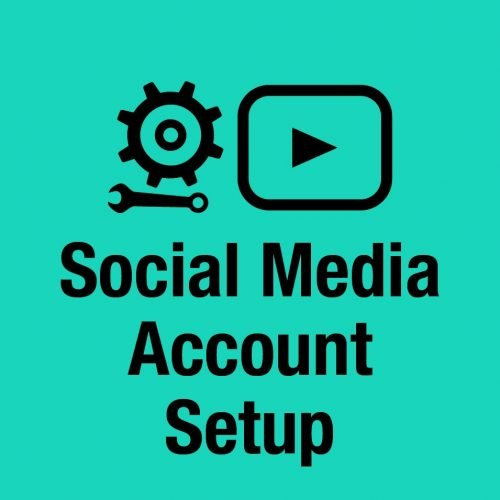 social media account setup