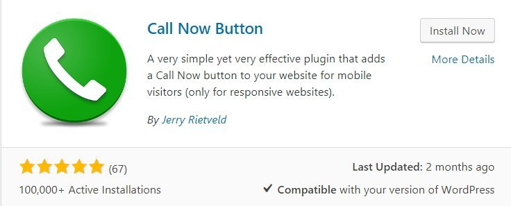 call now button