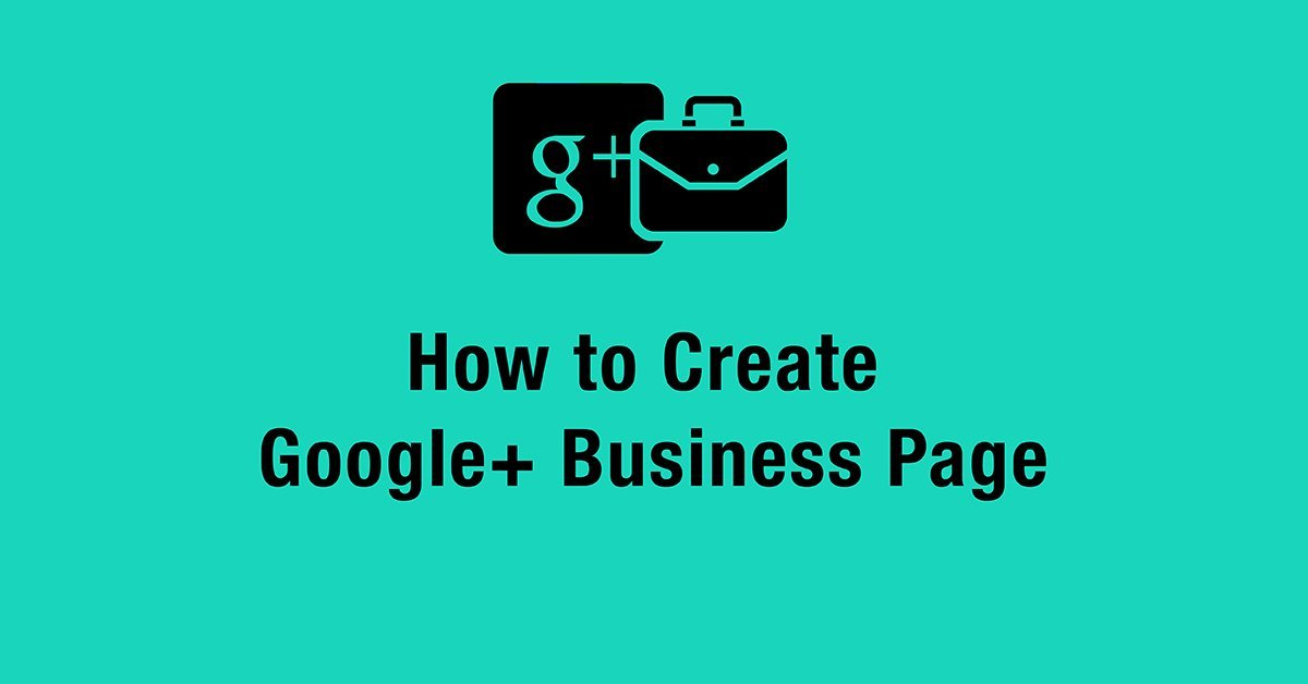 How to Create Google Business Page