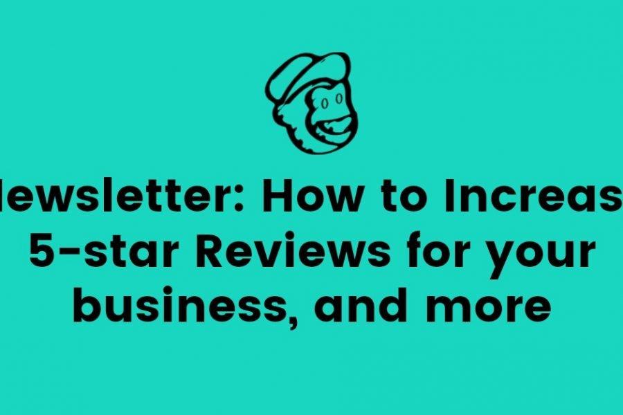 Increase 5 star reviews