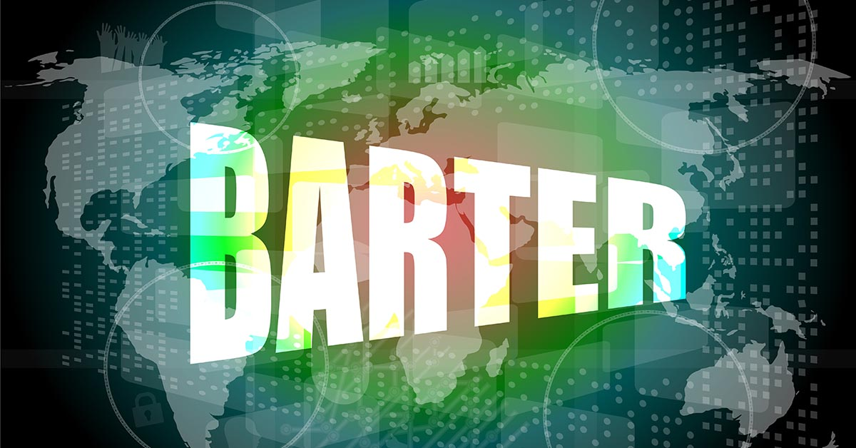What is barter?