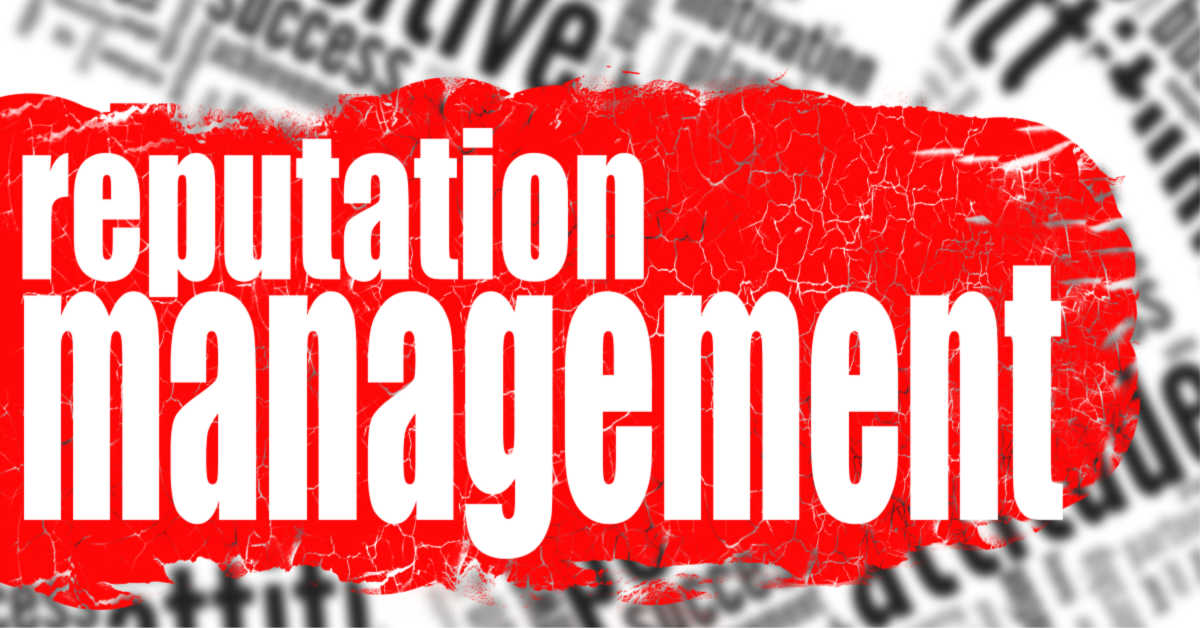 online reputation management: