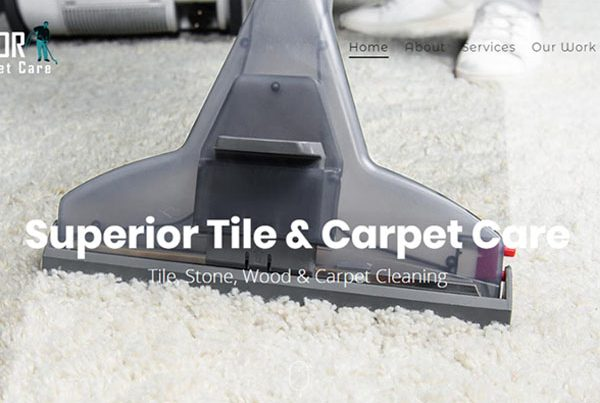 Web Design Superior Carpet