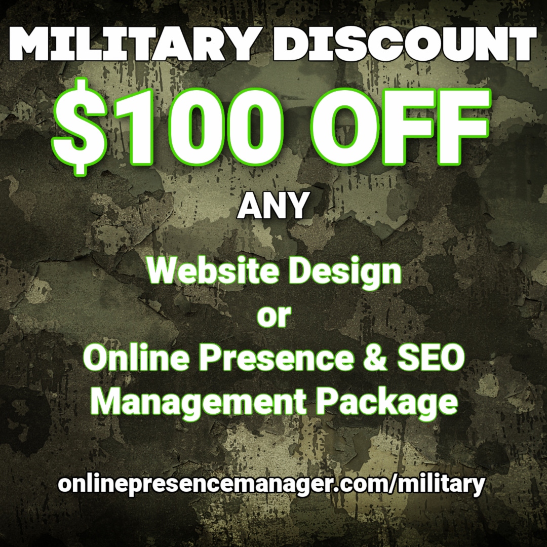 web design discount